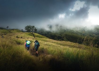 Jalur Pendakian Gunung Jaya WIjaya